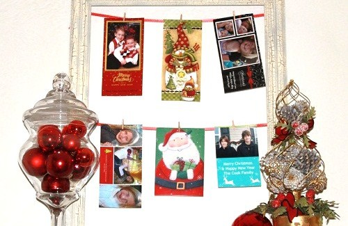 DIY Greeting Card Frame
