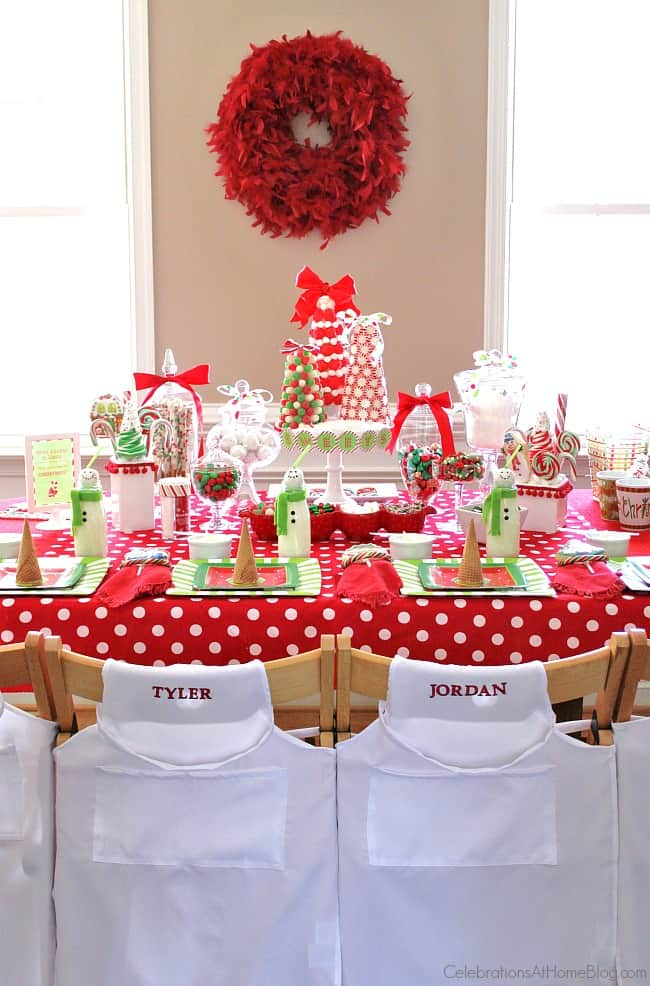 Children Christmas Party Ideas.Kids Candy Coated Christmas Party Celebrations At Home
