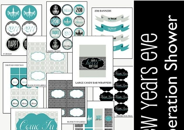 New Years Eve FREE Printables