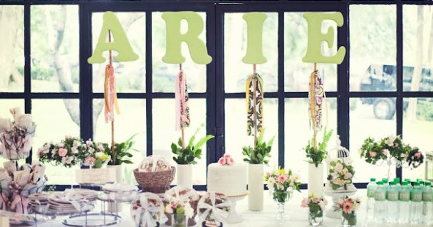 A Botanical Garden 1st Birthday Party {guest feature}