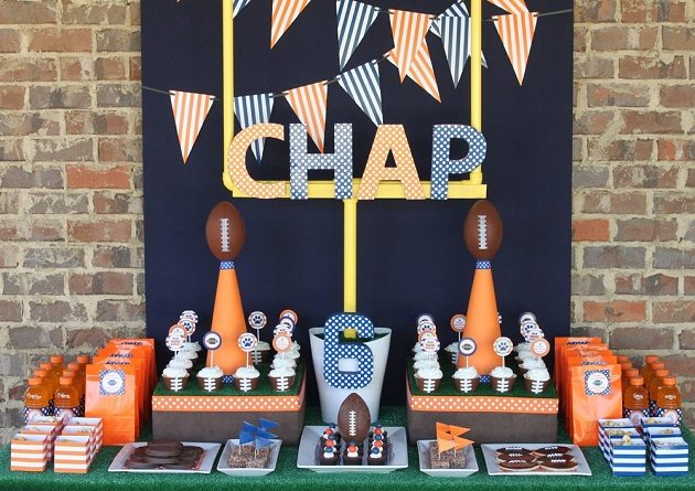 Football Party Printables {Superbowl Inspiration}