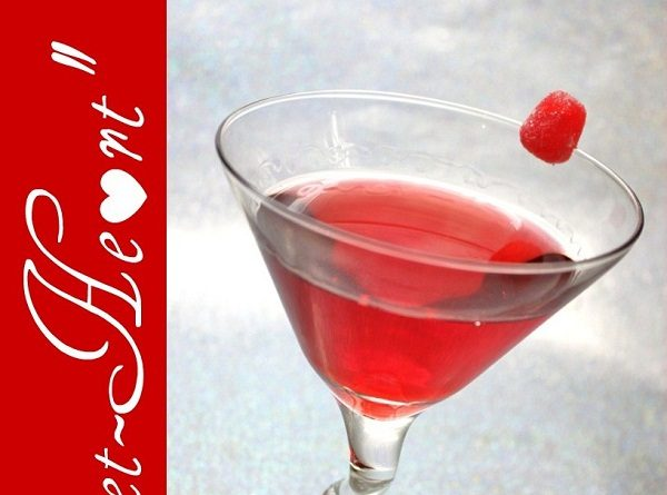 """Sweet-Heart"" Valentine's Day Cocktail"