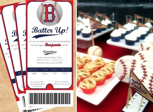 Baby Shower Baseball Ticket Invitations is beautiful invitations layout