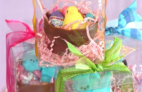 DIY Chocolate Easter Bowl
