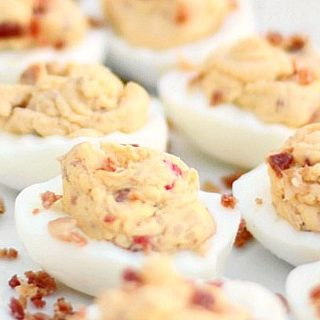 Delicious Deviled Eggs With Bacon