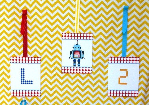 Robot Birthday Party {guest feature}