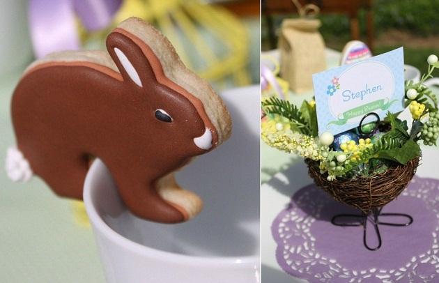Easter Brunch Egg Hunt Table Setting Celebrations at Home – Easter Place Card Holders