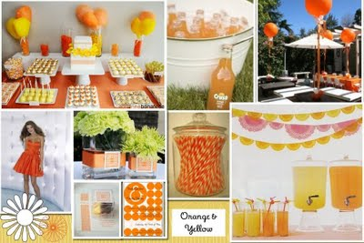 Orange & Yellow Inspiration