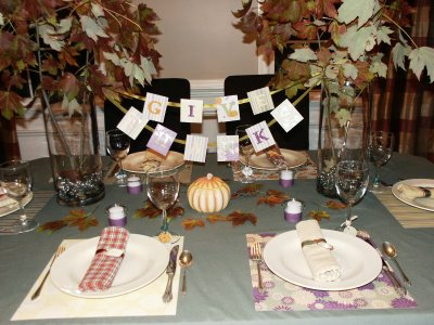 Easy-To-Do Autumn Table
