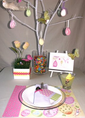 Easter Tabletop Two Ways