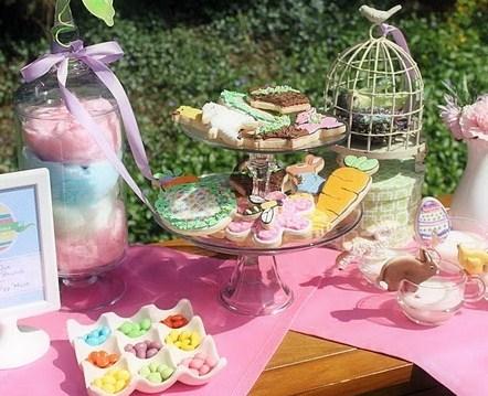 Easter Brunch & Egg Hunt – Dessert & Kids Table