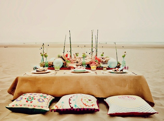 Beach Wedding Ideas {Styled Shoot} - Celebrations at Home