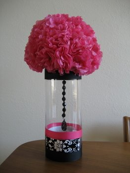 Pink Centerpiece Idea — Celebrations at Home