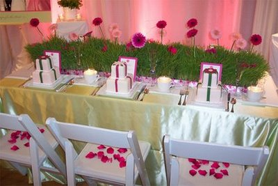 Super Stylish Centerpieces!