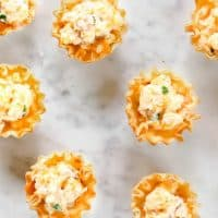 Ham & Cheese Phyllo Cups
