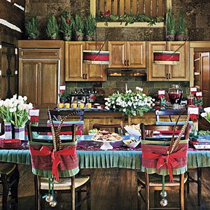 "A ""Plaid"" Christmas Setting"