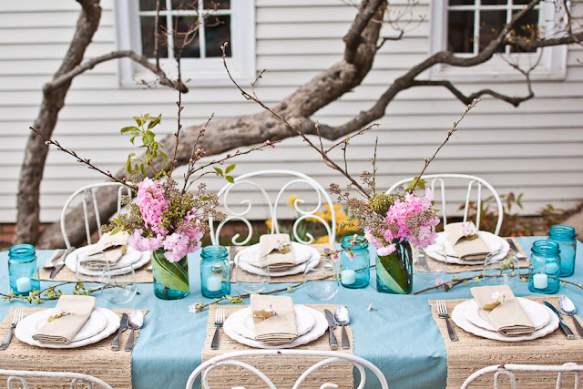Spring Bridal Shower Shoot