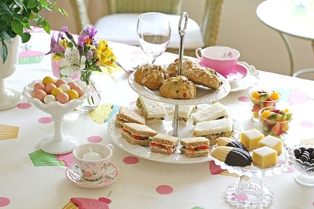 Tea Party For Mother's Day