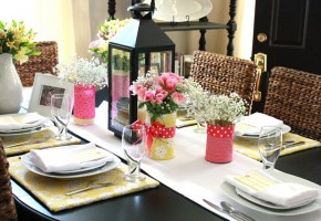 Pink & Yellow Spring Brunch {guest feature}