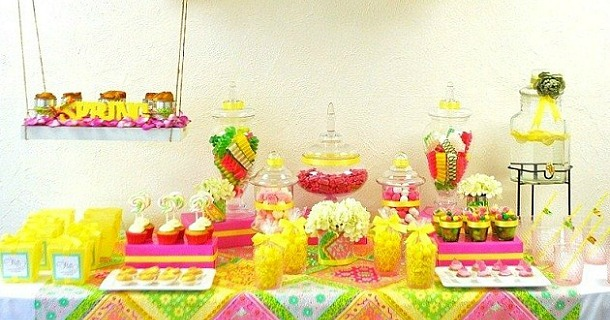 """Swing"" Into Spring Sweets Table {guest feature}"