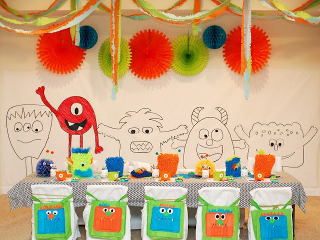 Little Monster Birthday Party Guest Feature Celebrations At Home