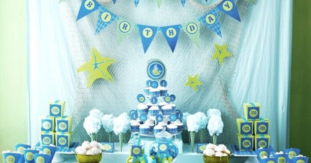 An Ocean Themed 1st Birthday {guest feature}