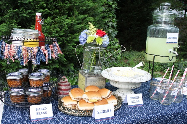 gallery for backyard bbq party