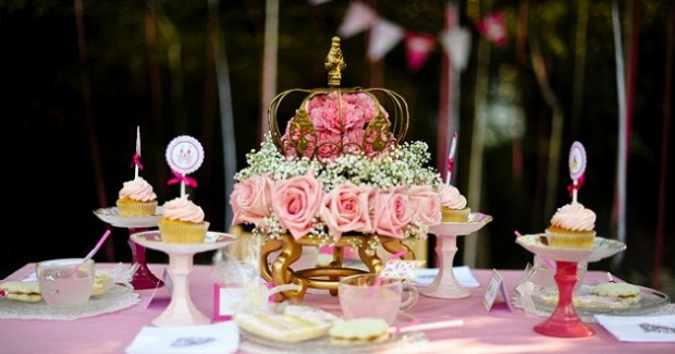 Pink Princess Tea Party {Styled Shoot}