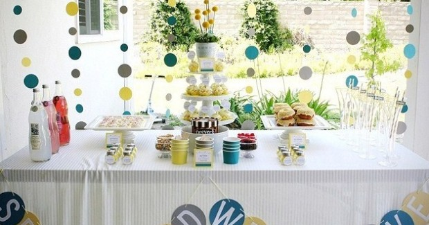 SprinkleThemePartyDessertTable1