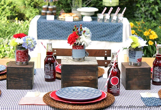 backyard bbq inspiration and free printables