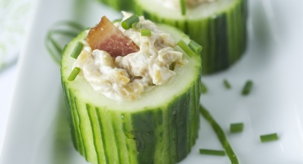 Cucumber Cup Appetizers