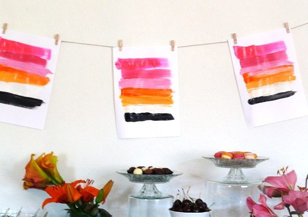 "A ""Paint"" Inspired Dinner Party {Vendor Challenge}"