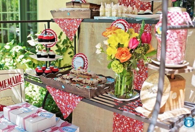 Picnic Style Baby Shower Guest Feature Celebrations At