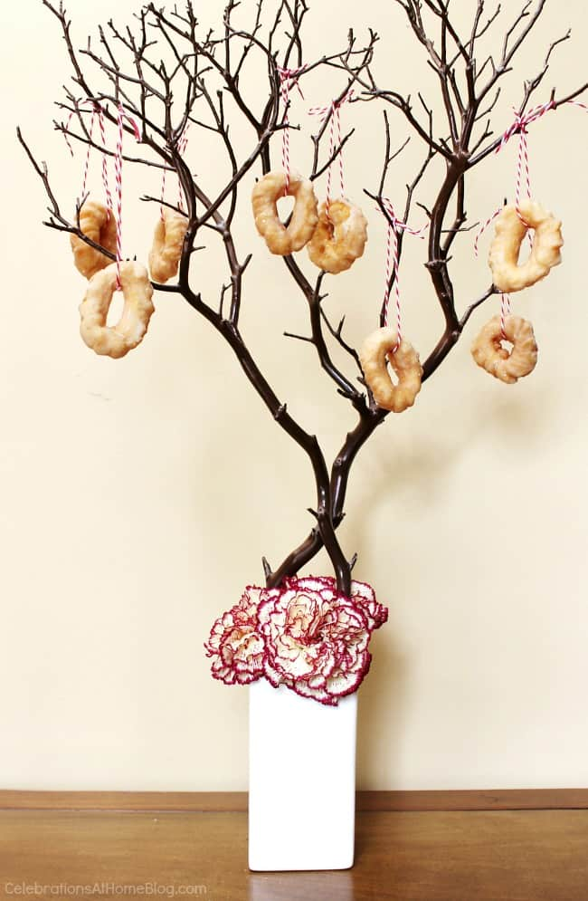 trend alert donuts; donut tree; donut display