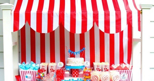 Circus Themed Birthday Party {guest feature}