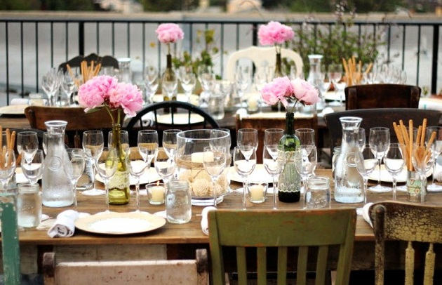 A Rooftop Wine + Food Pairing Party {guest feature}