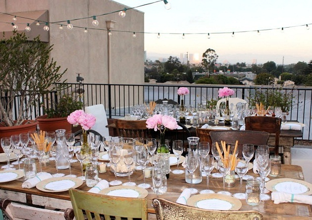 A Rooftop Wine Food Pairing Party Guest Feature