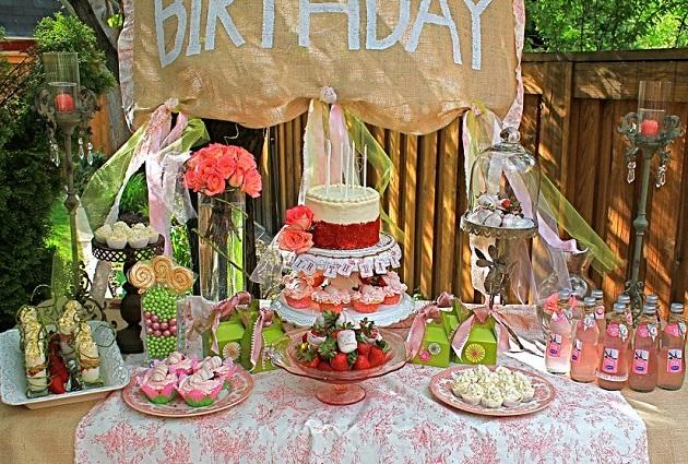 Shabby Chic Birthday Celebration Celebrations At Home