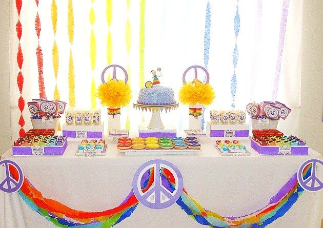Peace & Love Birthday Party
