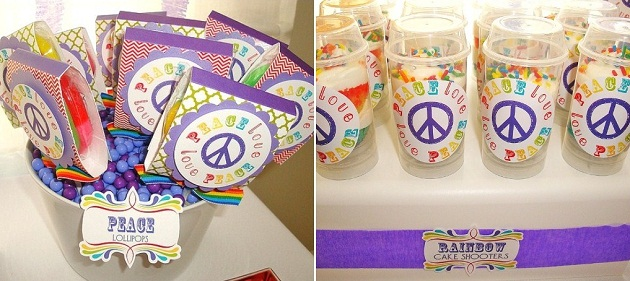 Peace Love Birthday Party Celebrations At Home