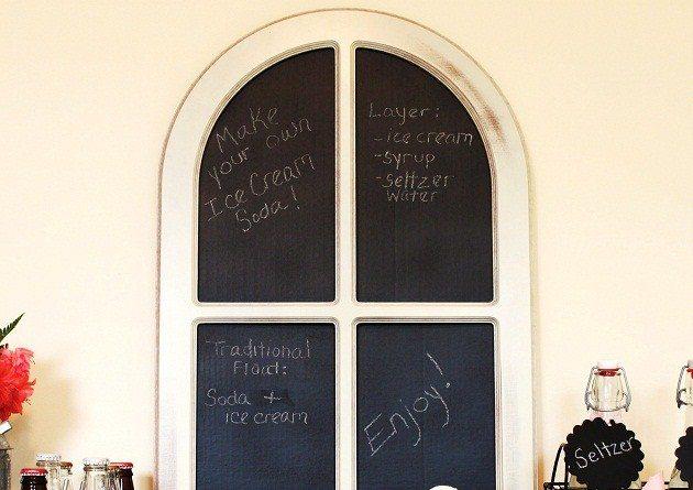 Easy Frame Chalkboard DIY
