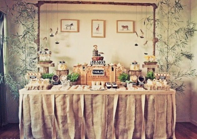 Safari Themed Birthday Party {guest feature}