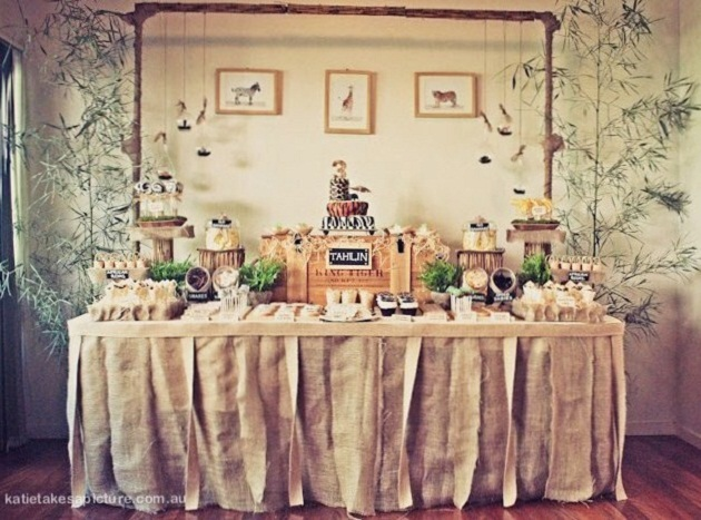 Safari themed birthday party guest feature for Safari decorations for the home