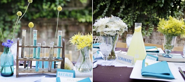 Decoration Mariage Science