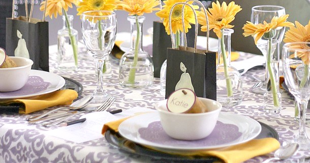Perfect Pear-Pair Engagement Party
