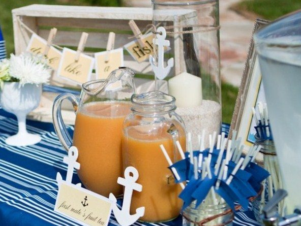 Nautical Baby Shower Brunch {guest feature}