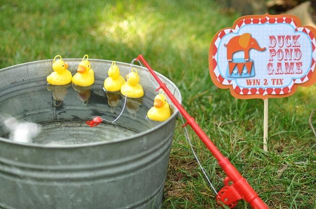 Make Duck Pond Cake