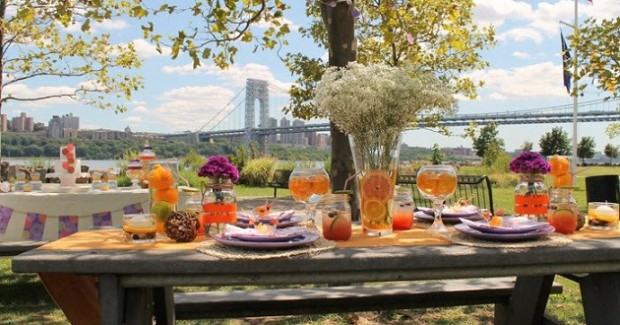 Pretty Picnic Luncheon With A View! {Vendor Challenge}