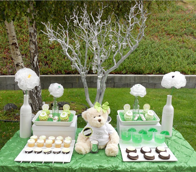 Beautiful Gorgeous Modern Garden Concept Idea With Bright: Lime Inspired Baby Shower {Vendor Challenge