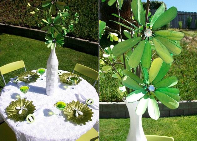 Lime Green Baby Shower Decorations  from celebrationsathomeblog.com